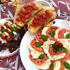 Anna, Olio e Peperoncino (@annaolioepeperoncino) posted on Instagram • Jul 24, 2020 at 10:24am UTC Anna, Bruschetta, Instagram, Ethnic Recipes, Food, Plate, Recipes, Essen, Yemek