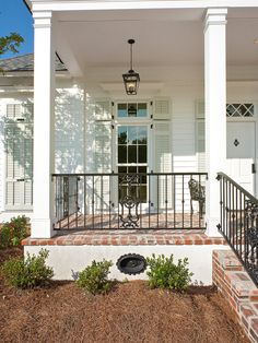 Spaces Acadian House Facade Doors With Shutters Design, Pictures, Remodel, Decor and Ideas - page 3