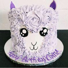 Cake Cookies, Cupcake Cakes, Cupcakes, Food Design, Llama Birthday, Birthday Cake, Animal Cakes, Dessert Decoration, Just Cakes