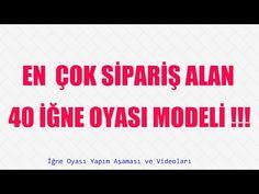 İğne Oyası Yazma Modeli - 3 (HD) Çekim - YouTube