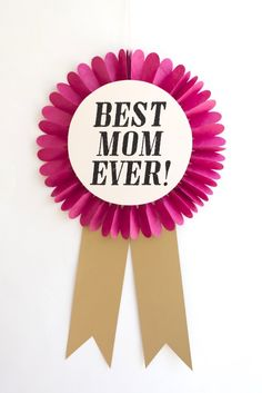 Oversize Mother's Day Awards DIY   Oh Happy Day!
