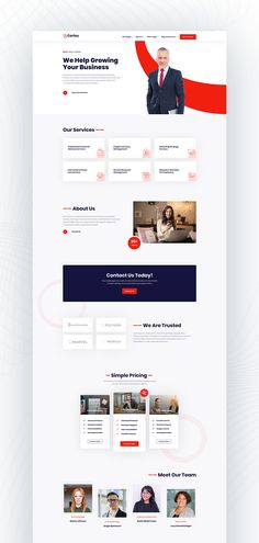 Cortex Divi Child Theme is built especially for corporate and business websites. Best Website Design, Corporate Website Design, Business Web Design, Flat Web Design, Website Design Layout, Website Design Inspiration, Web Layout, Layout Design, Corporate Business