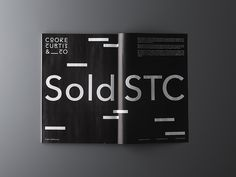 Brand identity for Cooke Curtis & Co. by The District.
