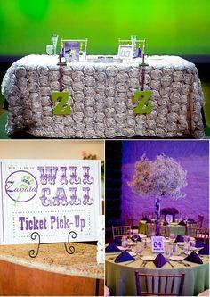 Baseball themed wedding ideas wedding