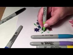 What you need for this creation : Ordinary Paper Sharpies (permanent markers…