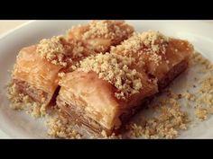 Banane plus Toffee das macht: Banoffee Cake Turkish Sweets, Arabic Sweets, Arabic Food, Arabic Dessert, Banoffee Pie, Toffee, Turkish Baklava, Cake Recipes, Dessert Recipes