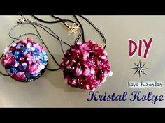 Kristal boncuk cevşen yapımı /beaded medallion pendant slayt tutorial - YouTube