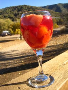 """ SANGRIA "" ~ http://www.cocktailplayground.com/2012/11/thanksgiving-ranch-style.html"