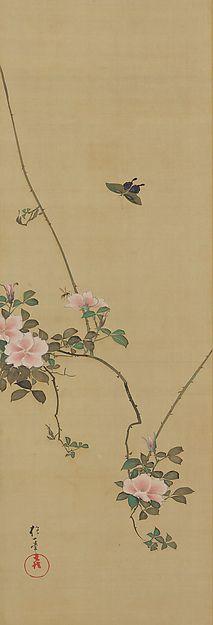 April - Sakai Hōitsu (1761-1828 - )Birds and Flowers of the Twelve Months