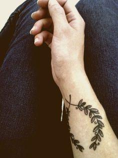 Laurel tattoo