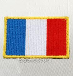 France Flag Velcro Patch