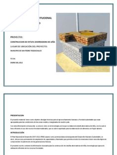 planos estufa de leña ecologica | Edificio sustentable | Elementos arquitectónicos
