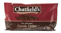 CHATFIELDS: Gluten Free Carob Chips, 12 oz