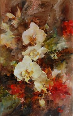 Laura Robb - Work Zoom: Orchids and Geraniums
