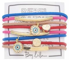 Finally hair ties that double as bracelets! By Lilla #lesters #hairties #hairthings #bracelets #bylilla