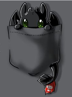 Pocket Toothless Dark Shirt Ideas of Dark Shirt Pock - Dark Shirt - Ideas of Dark Shirt - Pocket Toothless Dark Shirt Ideas of Dark Shirt Pocket Toothless t-shirt How To Train Your Dragon TeeTurtle Cute Toothless, Toothless Drawing, Toothless And Stitch, Toothless Tattoo, Cute Disney Drawings, Cute Animal Drawings, Kawaii Drawings, How To Train Dragon, How To Train Your