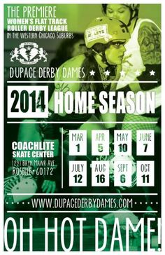 DuPage Derby Dames | Oh Hot Dame! Women's Roller Derby In The Chicago Suburbs