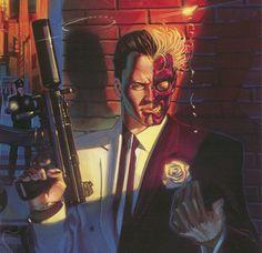 Gotham, Harvey Dent o Due Facce ha il volto pulito e armonioso di Nicholas D'Agosto.