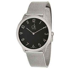 Dial Hands: Silver Tone Hands MPN: Markers: Arabic Numerals Silver Tone Gender: Women'sBezel Material: Stainless Steel Case Shape: RoundMovement: Swiss Quartz (Battery-Powered) Case Material: Stainless SteelCrown: Pull and Push Crown Case Width: 34 mm< Cool Watches, Watches For Men, Best Watch Brands, Mesh Bracelet, Online Watch Store, Calvin Klein Men, Brass Metal, Stylish Men, Quartz Watch