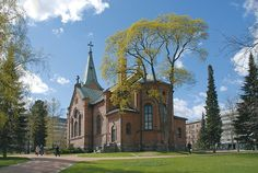 Church Finland, Barcelona Cathedral, Mansions, House Styles, Building, Travel, Home Decor, Viajes, Decoration Home