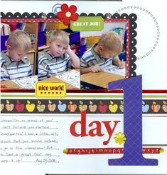 day 1 - Scrapbook.com