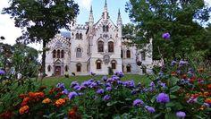 Sturdza Castle in Miclauseni, Iasi, Romania Romania, Castle, Mansions, House Styles, Home Decor, Decoration Home, Manor Houses, Room Decor, Villas