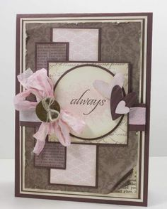 Layout--nice for wedding or anniversary card!!