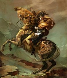 Pictures of Steampunk | ... steampunk twist on Jacques-Louis David's famous Napoleon Crossing
