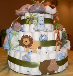 Jungle Theme Baby Shower ideas, invitations, themed decorations, favors, cakes, cupcakes, food and games