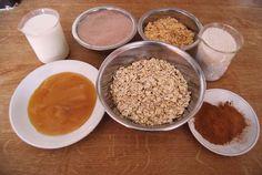 Pečené proteinové tyčinky | Kulturistika.com Grains, Rice, Fitness, Food, Diet, Meals, Excercise, Health Fitness, Yemek
