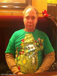 Reason If I bought a Piff the magic Dragon T-Shirt I could look like Teller. Penn And Teller, Magic Props, Magic Tricks, Day Of My Life, Magical Creatures, Having A Crush, The Magicians, Ronald Mcdonald, Christmas Sweaters