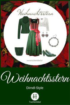 Weihnachtlich in Rot und Grün! Dirndl-Style zum Nachshoppen. @trachtenbibel folgen und Trends entdecken!