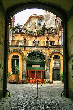 Via B. Croce, Naples, Italy