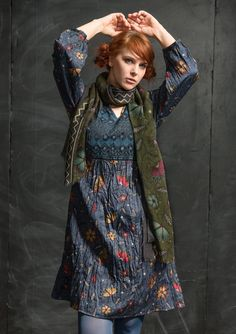 """""""Midvinter"""" dress in eco-cotton – Midvinter – GUDRUN SJÖDÉN – Webshop, mail order and boutiques 