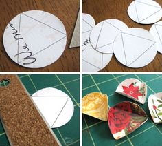 tutorial :: Crafting a Holiday Card Keepsake Ornament :: by nicole of lillyella