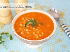 Makarnalı Domates Çorbası Tarifi Chana Masala, Food And Drink, Soup, Ethnic Recipes, Soups