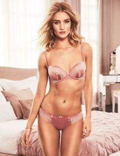Silk & Lace Set with Padded Balcony A-E   M&S