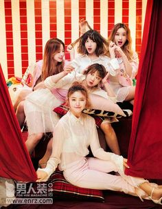 """""""EXID for 男人装 July Issue"""""""