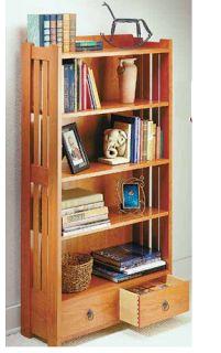 Ah! E se falando em madeira...: estante livros