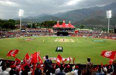 Dharmasala Cricket Stadium - Th most beautiful cricket stadium in India