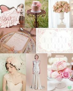 Romantic Pink Weddings - Moody Monday - The Wedding Community Blog