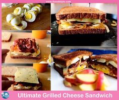 Foood Style: Yummy Grilled Cheese egg Sandwich idea !