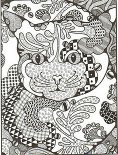 Zentangle by infinite visions. Blog is well worth a visit