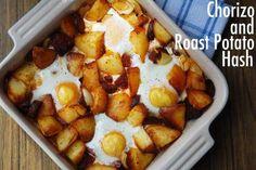 Chorizo and Roast Potato Hash for Brunch