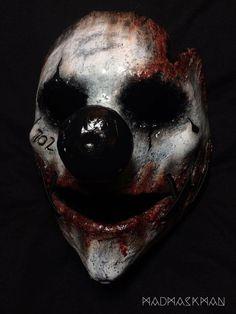 SCARYHORRORSTUFF.COM Creepy Masks, Creepy Clown, Creepy Art, Horror Photography, Dark Photography, Arte Horror, Horror Art, Horror Photos, Creepy Tattoos