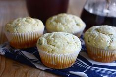 Goat Cheese Chive Corn Muffins