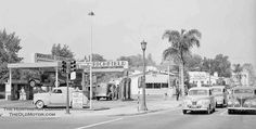 A Richfield Gas Station in Pasadena, California