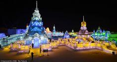 Harbin, un festival de hielo