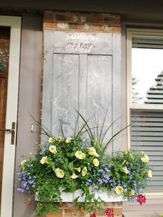 front shutters of kitchen....great idea