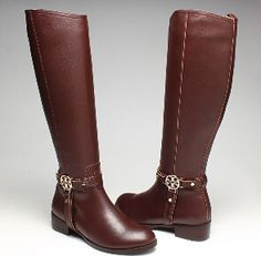 Women Amanda Fig Brown Riding Tory Burch Boot For Sale On Sale $150.50